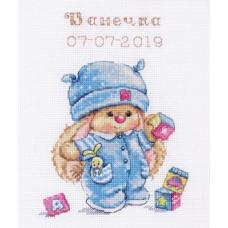 Набор для вышивания крестом Алиса Зайка Ми малыш (0-187)