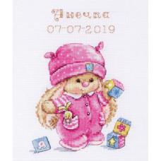 Набор для вышивания крестом Алиса Зайка Ми малышка (0-188)