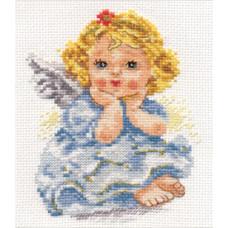 Набор для вышивания крестом Алиса Ангелок мечты (0-94)