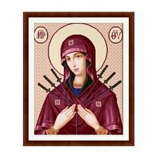 Набор для вышивания крестиком Дантель Семистрельная (001 Р)