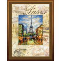 Набор для вышивания крестом Риолис  Город мира. Париж (РТ-0018)
