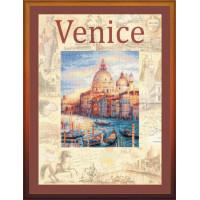 Набор для вышивания крестом Риолис Город мира. Венеция (РТ-0030)