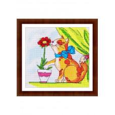 Набор для вышивания крестиком Дантель Весенний аромат (003 Д)