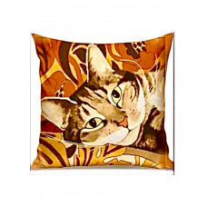 Набор для вышивания крестиком Дантель Подушка Полосатик (003 П)