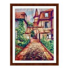 Набор для вышивания крестиком Дантель Старый город (006)