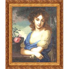 Набор для вышивания крестиком Золотое руно Портрет Е.А. Нарышкиной (00-013)