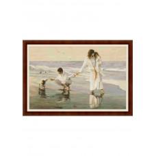 Набор для вышивания крестиком Дантель Прогулка у моря (015)