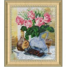 Набор для вышивания бисером Золотое руно Романтическое настроение (РТ-150)