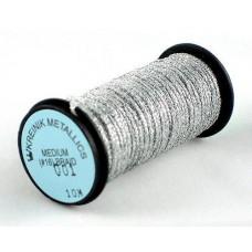 Металлизированная нить Kreinik Medium #16 Braids 001