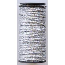 Металлизированная нить Kreinik Medium #16 Braids 001L (голографический)