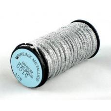 Металлизированная нить Kreinik Medium #16 Braids 001C