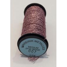 Металлизированная нить Kreinik Medium #16 Braids 007