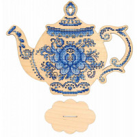 Набор для вышивания крестом М.П.Cтудия Приятного чаепития (О-010)