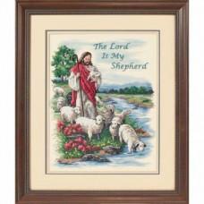 Набор для вышивания крестом Dimensions Господь - мой пастырь (03222)