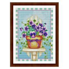Набор для вышивания крестиком Дантель Братки (041)