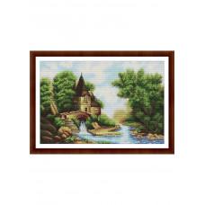 Набор для вышивания крестиком Дантель Сказочный замок (043)