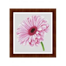 Набор для вышивания крестиком Дантель Гербера розовая (055.2 Д)