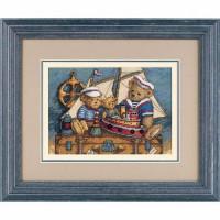 Набор для вышивания крестом Dimensions Мишки на палубу! (06994)