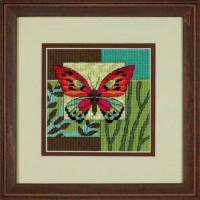 Набор для вышивания Dimensions Образ бабочки (07222)
