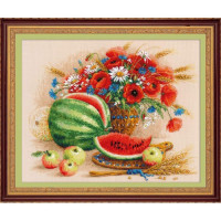 Набор для вышивания крестом Риолис Натюрморт с арбузом (100/060)