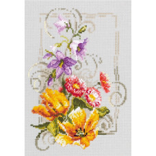 Набор для вышивания крестиком Чудесная игла Счастливого июня (100-162)