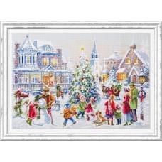 Набор для вышивания крестиком Чудесная игла Накануне Рождества (100-250)