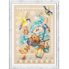 Набор для вышивания крестиком Чудесная игла Рождественские гостинцы (100-260)