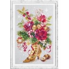 Набор для вышивания крестиком Чудесная игла Рождественский сюрприз (100-270)