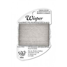 W60 - Gray Heather Wisper Yarn