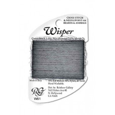 W61 - Dark Gray Wisper Yarn
