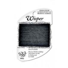 W62 - Charcoal Wisper Yarn