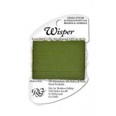 W92 - Olive Wisper Yarn