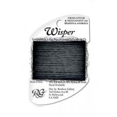 W97 - Dark Steel Wisper Yarn