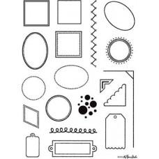Штампы Рамки - Frames (CS018)