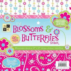Набор бумаги Цветы и бабочки (PS-005-00035)