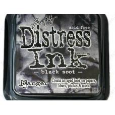 Дистрессинговые чернила Ranger Distress Ink™ Pad Black Soot (19541)