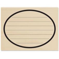 Резиновый штамп Journal Oval (OR1033)