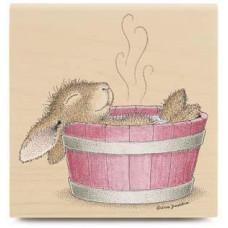 Резиновый штамп Bunny Bath (HMI1013)