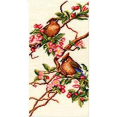 Набор для вышивания крестиком Золотое руно Яблоня в цвету (РС-001)