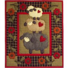 Набор (мини) для квилтинга Овечки - Wooly Sheep (K1006)