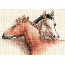 Набор для вышивания крестом Dimensions Приятели (65030)