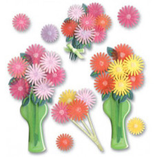 Наклейки блестящие Весенний букет (SPJB234)