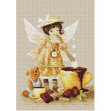 Набор для вышивания крестом Luca-S Горячий шоколад (B1131)