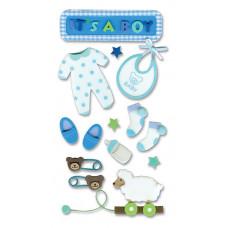 Трёхмерные наклейки  Малыш (SPJH006)