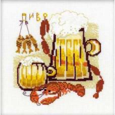 Набор для вышивания крестом Риолис Пиво (1031)