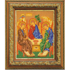 Набор для вышивания бисером Икона Святая Троица (В-167)