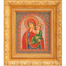 Набор для вышивания бисером Икона Богородица Отрада и Утешение (В-166)