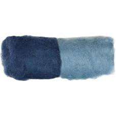 Шерсть для валяния Dimensions джинс и синий джинс (73292)