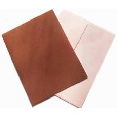 Заготовка для открытки с конвертом, Коричневый лён (14 х 10,5) Textured cards - CM-025-00012 (8)