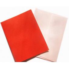 Заготовка для открытки с конвертом, Красный лён (14 х 10,5) Textured cards - CM-025-00012 (9)